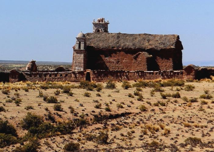 Bolivia - Itinerary La Paz-Sajama-Coipasa 019 / On the road to Sajama