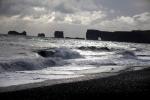 Iceland - South coast 020 - view of Dyrholaey from Reynisfjara