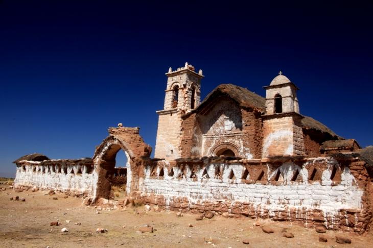 Bolivia - Itinerary La Paz-Sajama-Coipasa 020 / On the road to Sajama