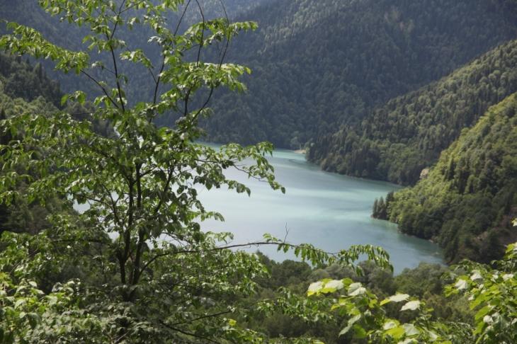 Abkhazia - Caucasus 013 - Lake Ritsa