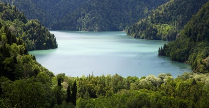 Abkhazia - Caucasus 014 - Lake Ritsa