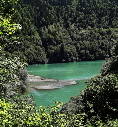 Abkhazia - Caucasus 021 - Lake Ritsa
