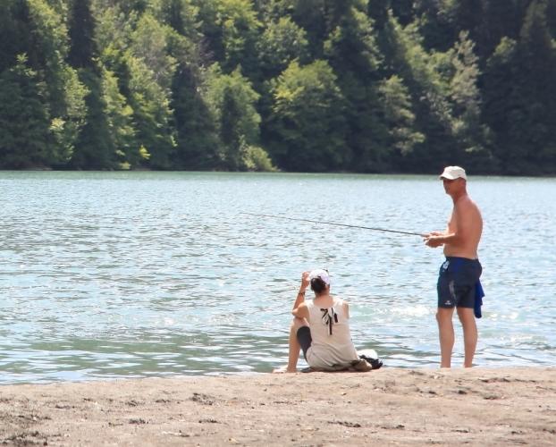 Abkhazia - Caucasus 024 - Lake Ritsa