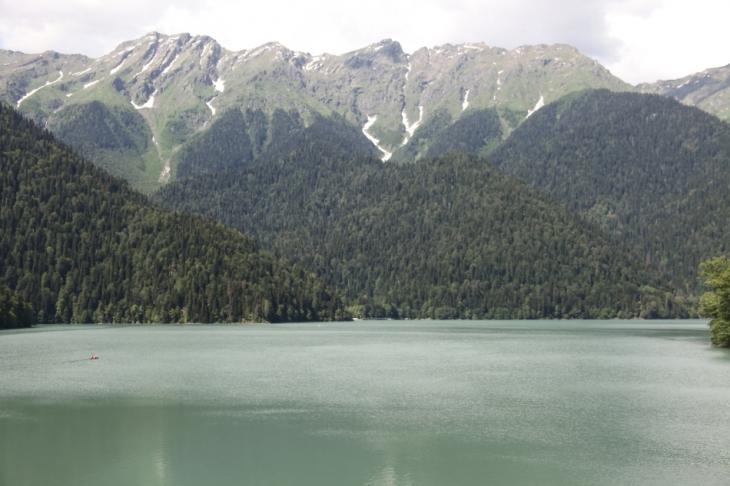 Abkhazia - Caucasus 026 - Lake Ritsa