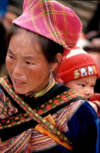 Vietnam - Northern ethnic minorities 036 - Can Cau market