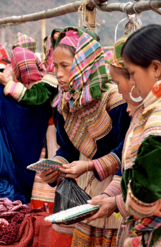 Vietnam - Northern ethnic minorities 038 - Can Cau market