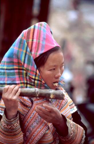 Vietnam - Northern ethnic minorities 039 - Can Cau market