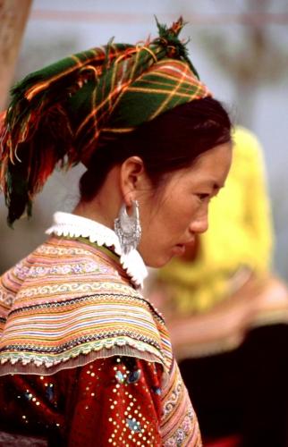 Vietnam - Northern ethnic minorities 040 - Can Cau market