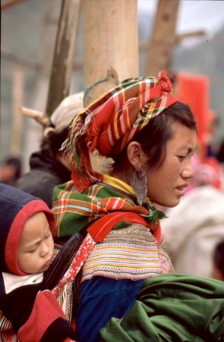 Vietnam - Northern ethnic minorities 042 - Can Cau market