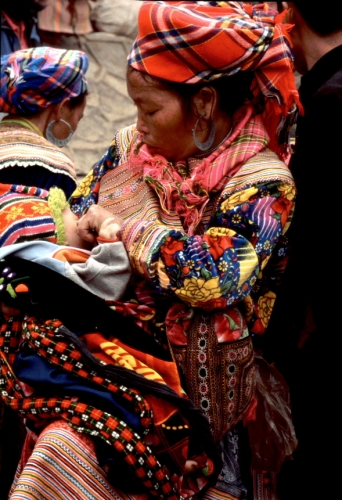 Vietnam - Northern ethnic minorities 043 - Can Cau market