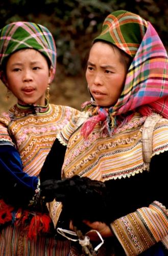 Vietnam - Northern ethnic minorities 048 - Can Cau market