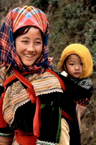 Vietnam - Northern ethnic minorities 049 - Can Cau market