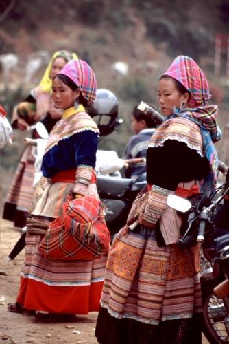 Vietnam - Northern ethnic minorities 050 - Can Cau market