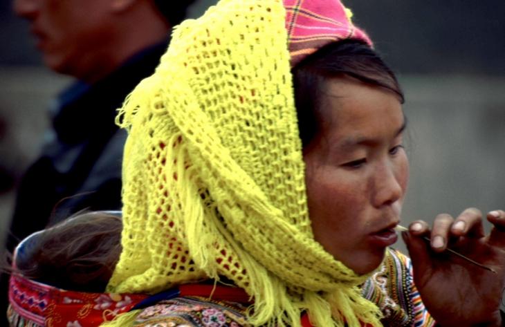 Vietnam - Northern ethnic minorities 051 - Can Cau market