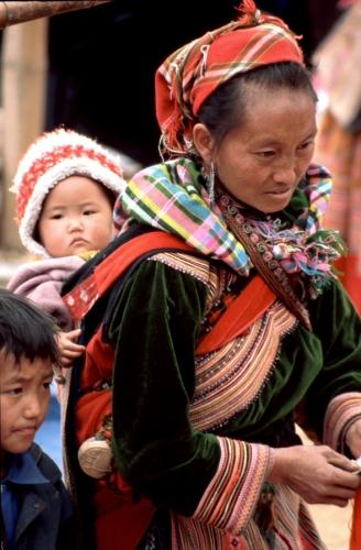 Vietnam - Northern ethnic minorities 052 - Can Cau market