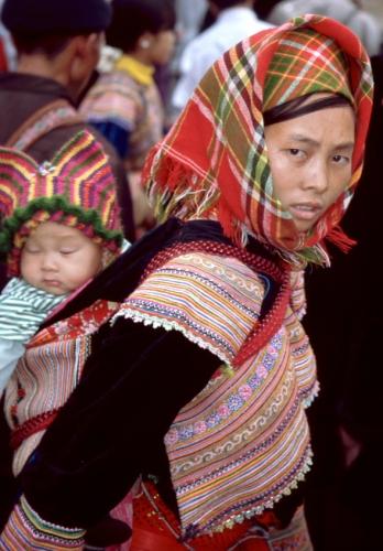 Vietnam - Northern ethnic minorities 060 - Can Cau market