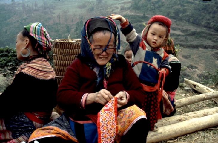 Vietnam - Northern ethnic minorities 063 - Can Cau market