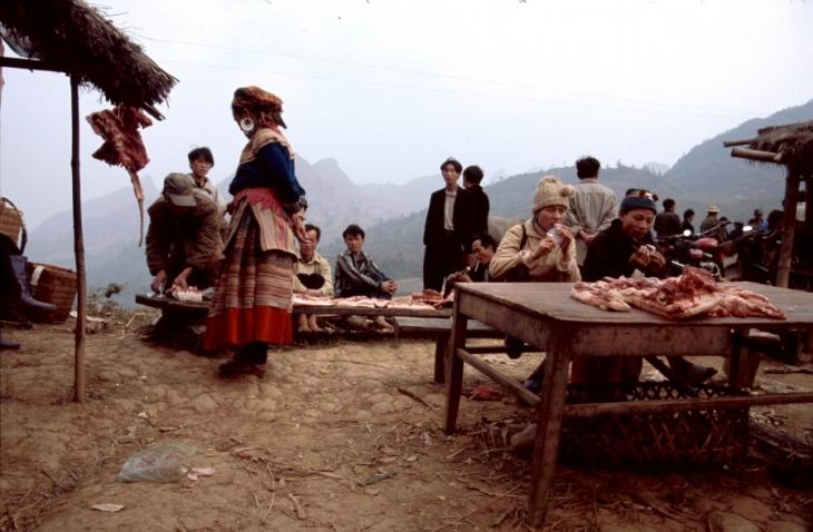 Vietnam - Northern ethnic minorities 065- Can Cau market