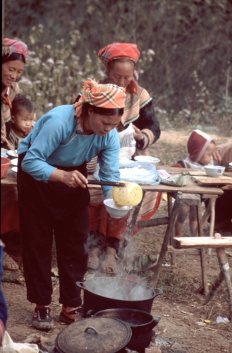 Vietnam - Northern ethnic minorities 069 - Can Cau market