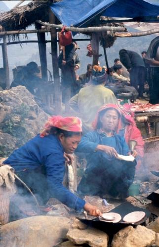 Vietnam - Northern ethnic minorities 070 - Can Cau market