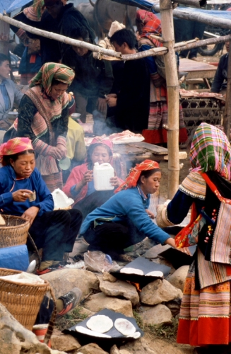 Vietnam - Northern ethnic minorities 071 - Can Cau market