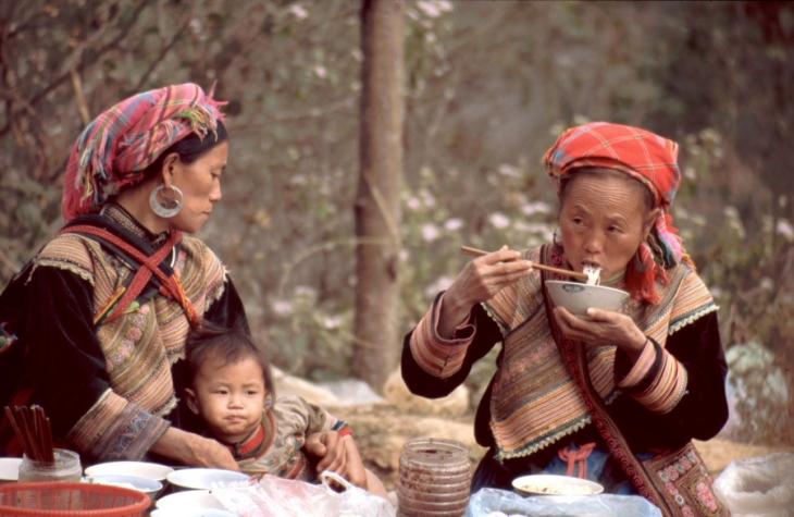 Vietnam - Northern ethnic minorities 073 - Can Cau market