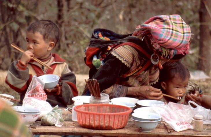 Vietnam - Northern ethnic minorities 074 - Can Cau market