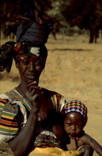 Mali - Dogon tribe 060 - On the road to Teli village