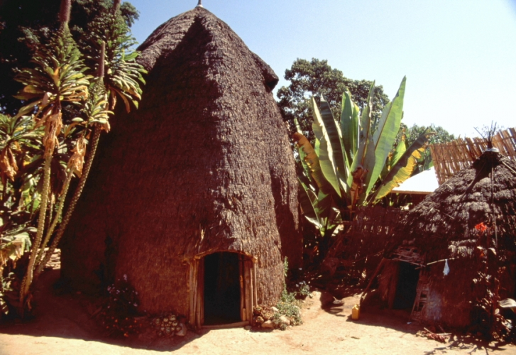 Ethiopia - South 033 - Dorze village