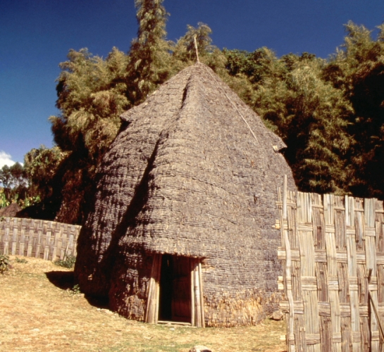 Ethiopia - South 045 - Dorze village