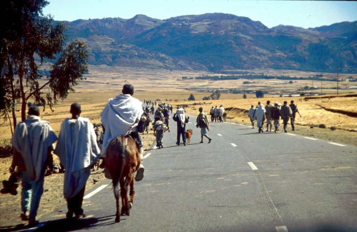 Ethiopia 001 - On the road to Lalibela