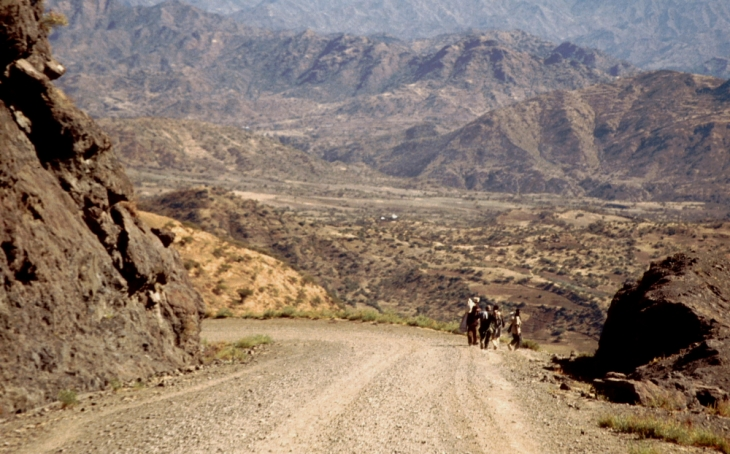 Ethiopia 005 - On the road to Lalibela