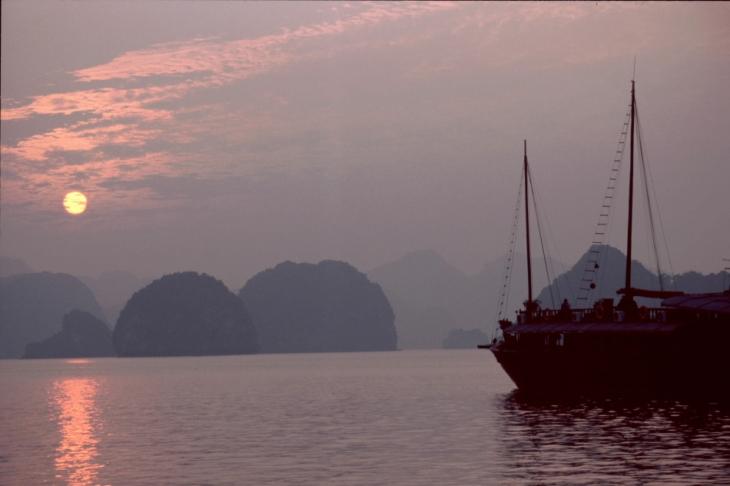 Vietnam - Baie d' Halong 046