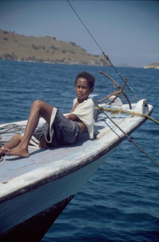 Indonesia 08 - Sailing to Rinca