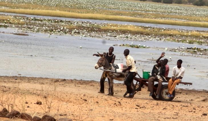 Mali - Trip on Niger river 044