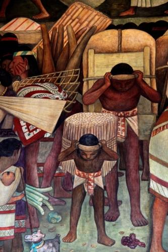 Mexico - Ciudad de Mexico 020 - Murales de Diego Rivera