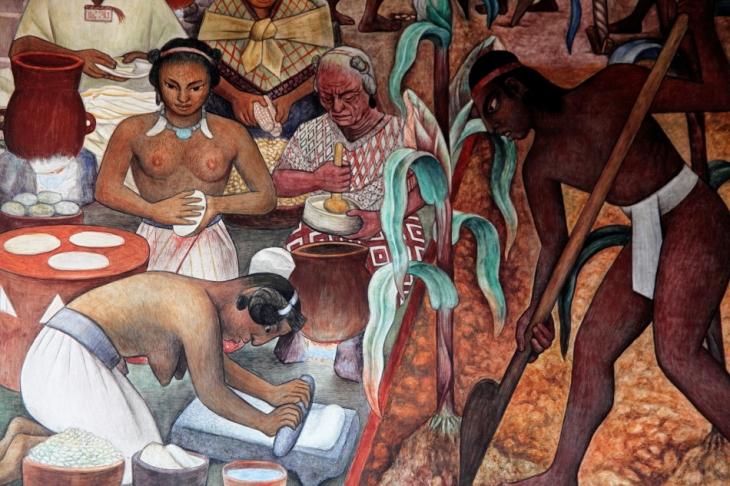 Mexico - Ciudad de Mexico 023 - Murales de Diego Rivera