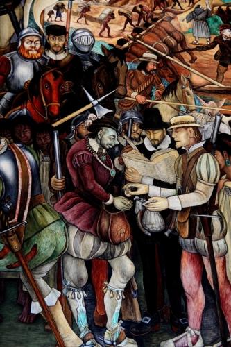 Mexico - Ciudad de Mexico 025 - Murales de Diego Rivera