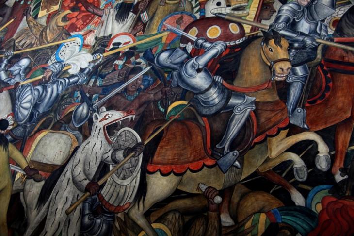Mexico - Ciudad de Mexico 026 - Murales de Diego Rivera