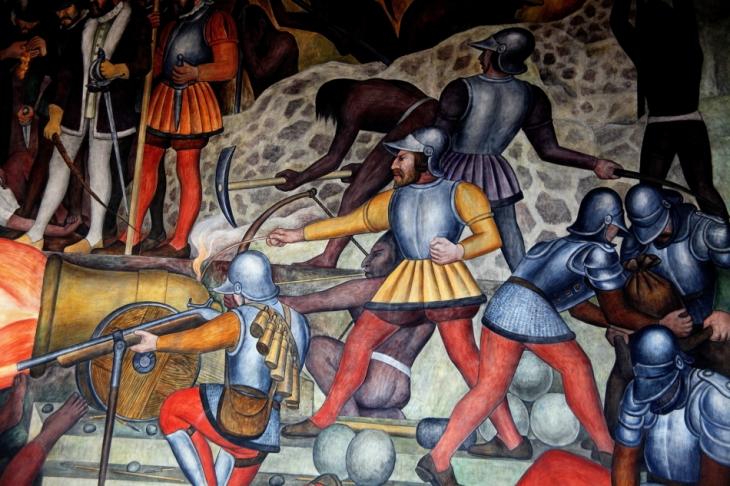 Mexico - Ciudad de Mexico 027 - Murales de Diego Rivera