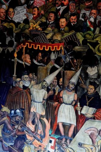Mexico - Ciudad de Mexico 029 - Murales de Diego Rivera