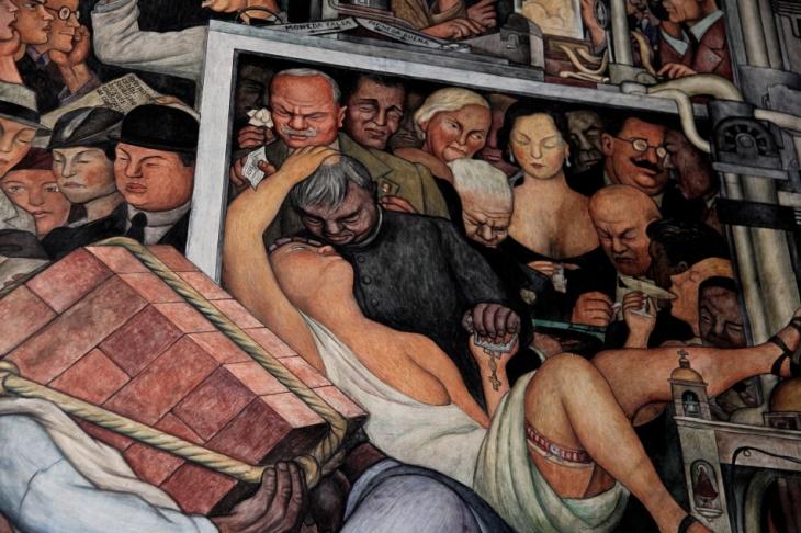 Mexico - Ciudad de Mexico 030 - Murales de Diego Rivera