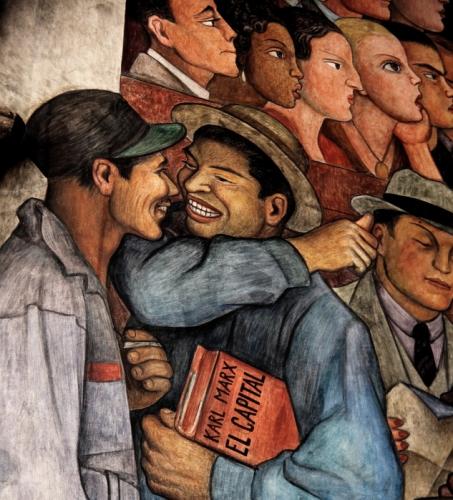 Mexico - Ciudad de Mexico 031 - Murales de Diego Rivera