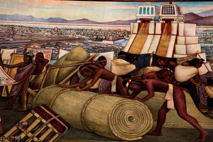 Mexico - Ciudad de Mexico 017 - Murales de Diego Rivera