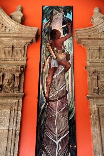 Mexico - Ciudad de Mexico 024 - Murales de Diego Rivera