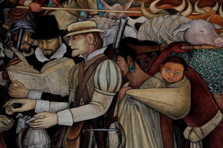 Mexico - Ciudad de Mexico 032 - Murales de Diego Rivera