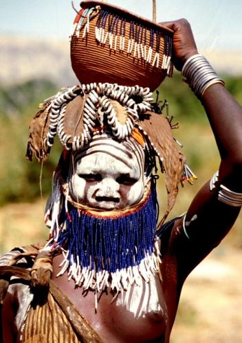 Ethiopia - South 067 - Mursi tribe