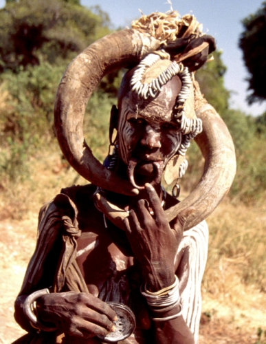 Ethiopia - South 069 - Mursi tribe