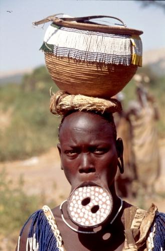 Ethiopia - South 070 - Mursi tribe