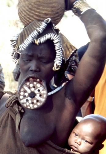 Ethiopia - South 075 - Mursi tribe